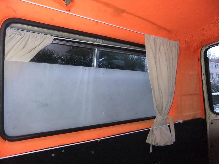 Multivan: Bj 87: Vorhang schiene oder  Seil: Befestigung