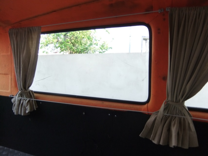 Gardinen für den Bus