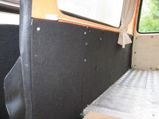 1967 Vw Bus >> Transporter verkleiden.
